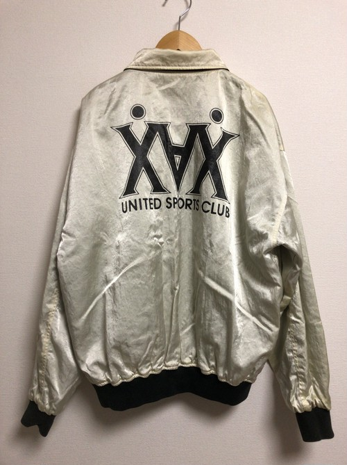80's XAX satin reversible jacket