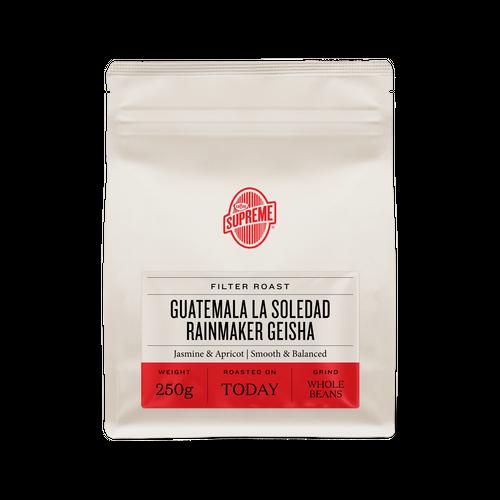 数量限定 グァテマラ・LA SOLEDAD RAINMAKER GEISHA 150g