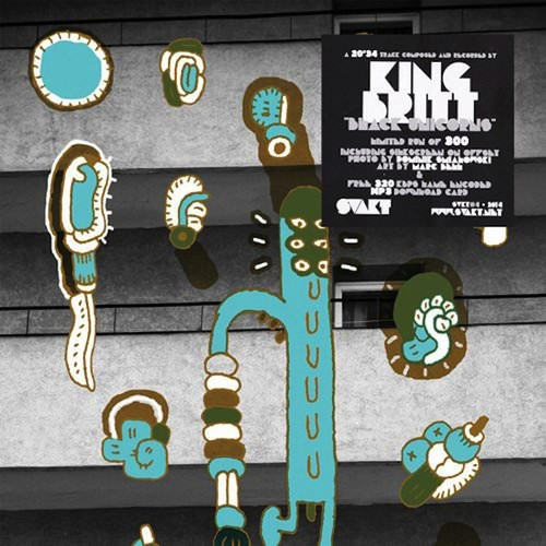 "KING BRITT / Black Unicorns (12""+DL)"