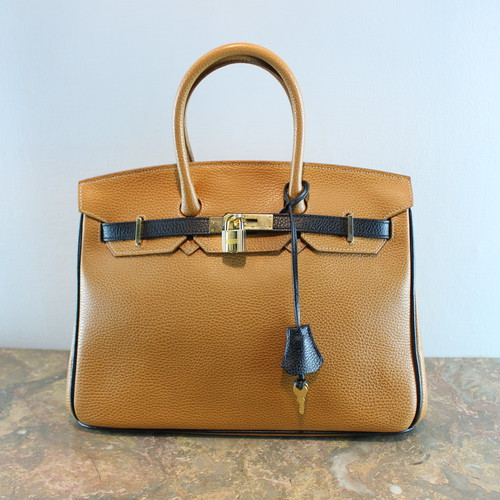 .EPONINE BELTED BICOLOR LEATHER HAND BAG MADE IN ITALY/エポニーヌベルテッドバイカラーレザーハンドバッグ 2000000037301