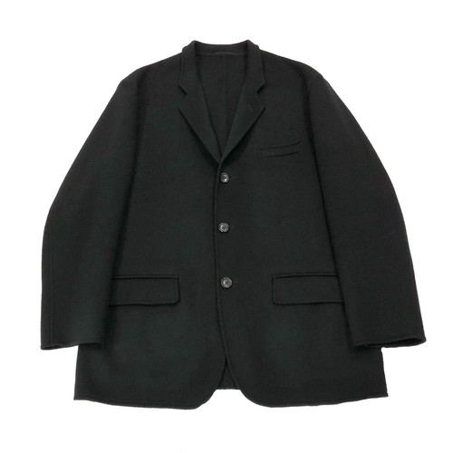 Y'S FOR MEN WOOL BIG SHOULDER JACKET