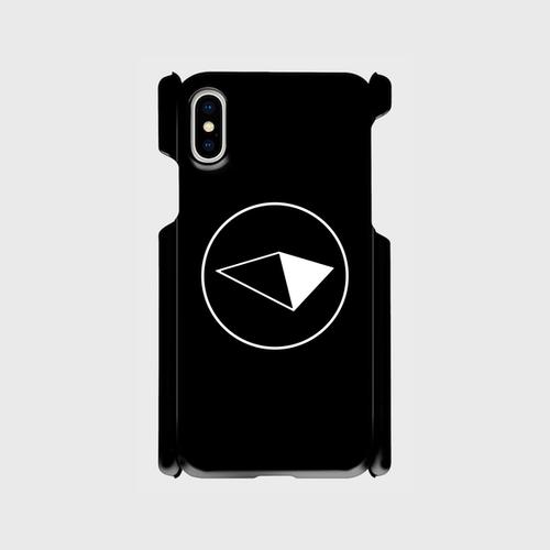 スマホケース iphoneX Black