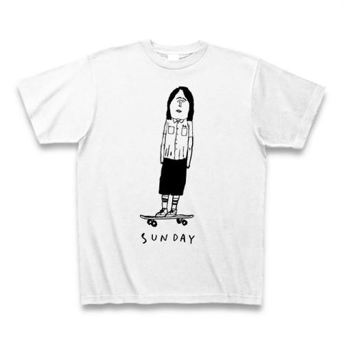 sunday Tシャツ white