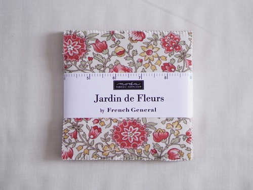Moda Jardin de Fleurs チャームパック