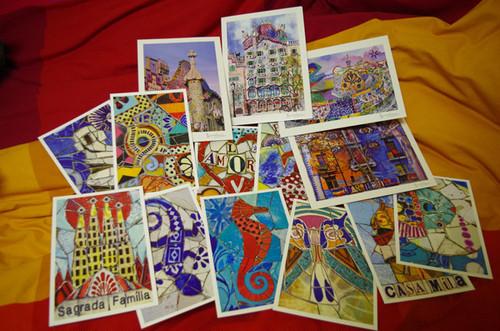 終了/2016.1~3月限定!バルセロナからポストカードが届く!っていうサービス
