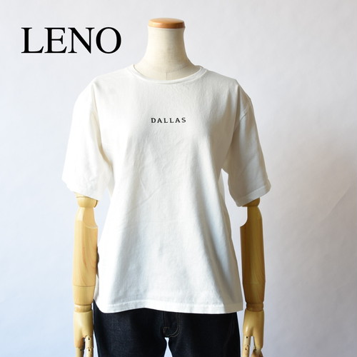 LENO/リノ・PRINTED T-SHIRT DALLAS