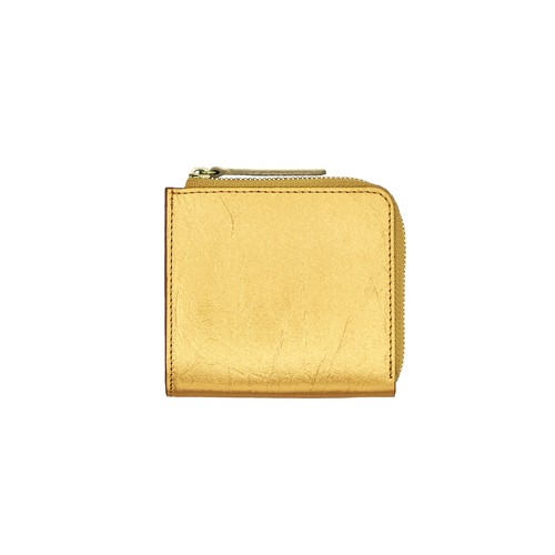 TIN BREATH Small purse Gold