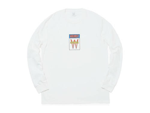 WHIMSY / ADVENTURE L/S TEE -WHITE-