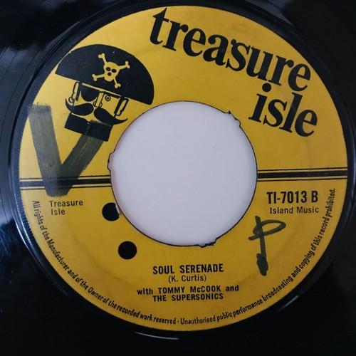 Tommy McCook & Supersonics - Soul Serenade【7-10947】