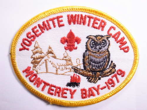 "OLD PATCH""YOSEMITE WINTER CAMP"""