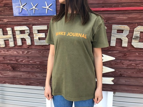 【Ladies】BANKS JOURNAL Tシャツ (olive green)