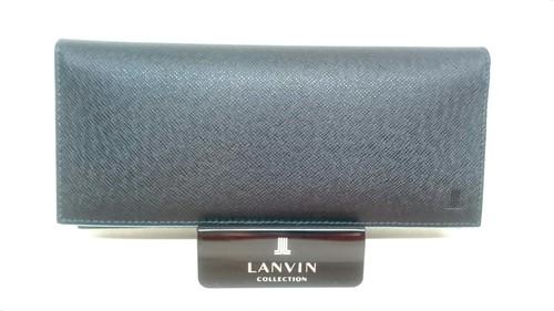 LANVIN collection〈ランバンコレクション〉 かぶせ長財布