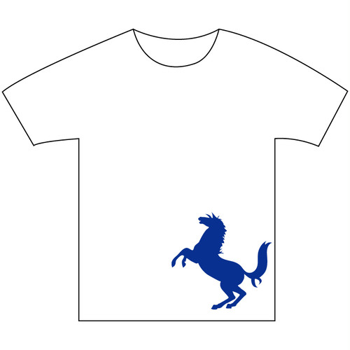 B4° ビヨンド Tシャツ TEE 半袖 半袖Tシャツ 馬 ホース 白x青 ヘビーウェイト フリースタイル ラップ ラッパー MCバトル 187 S M L XL XXL 2XL XXXL 3XL