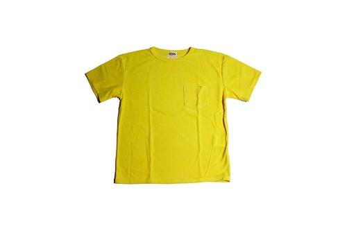 mas.×EACHTIME. PILE T-SHIRT Lemon yellow
