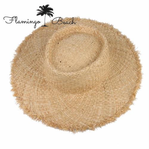 【FlamingoBeach】rafia hat
