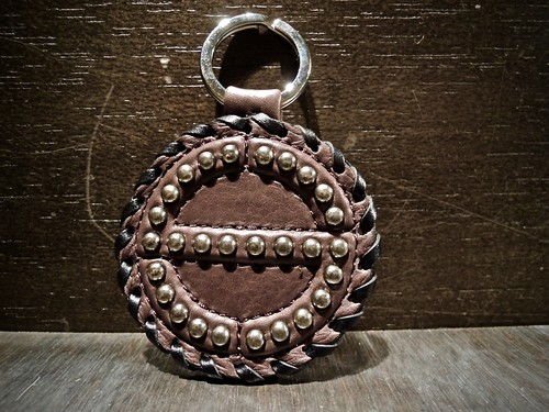 SATANTA サタンタ [S] LOGO STUDS KEY CHAIN SY-003 Shop別注品