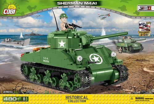 COBI #2464A M4A1 シャーマン (Sherman M4A1)