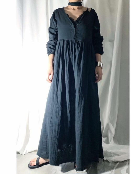 【PROVOKE】GAUZE MAXI-DRESS