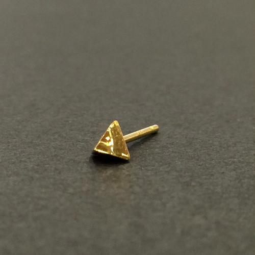 Baby-Baby stud earring - Triangle-Scoop/シングルピアス