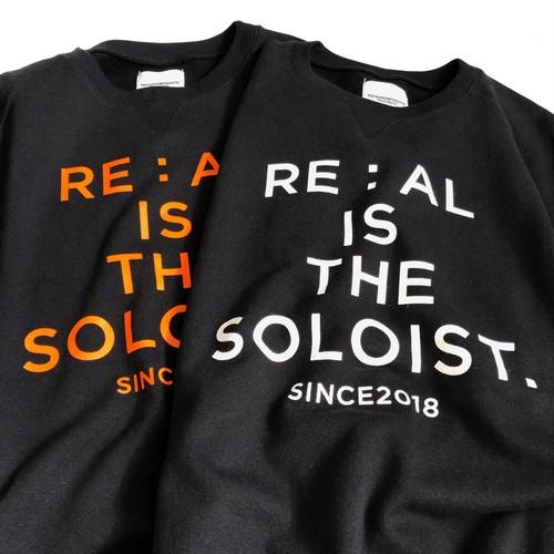 srealc.0002 : oversized crew neck sweat shirt.