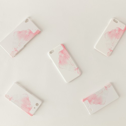 iPhone/Galaxy/Xperia Case「赤い、雲」