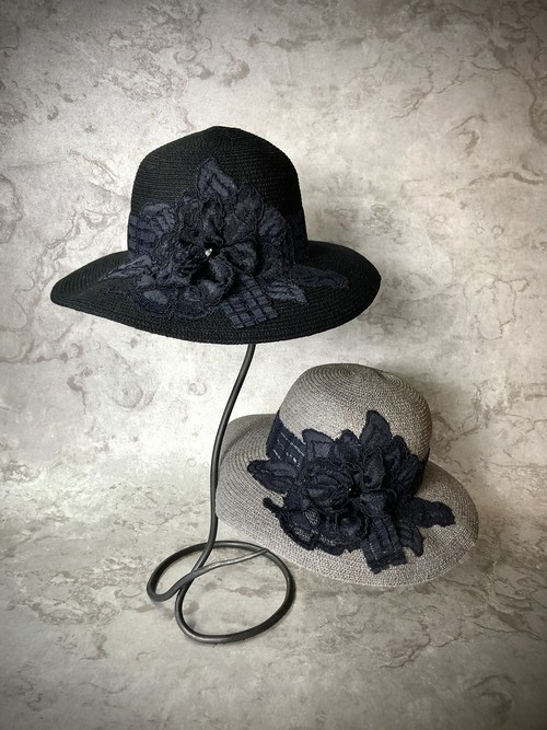 lacy flower hat  (レーシーフラワーハット) 6月22日まで