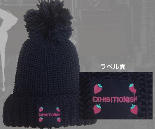 【凌央プロデュース第二弾】苺状可愛毛糸帽
