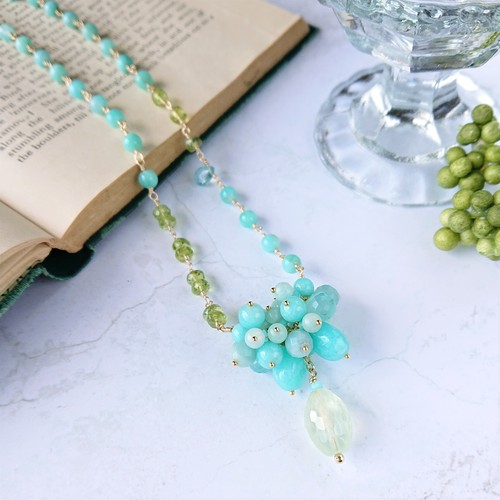 tree nuts necklace N008