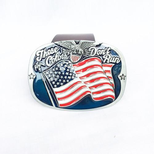 鷲 イーグル アメリカ 国旗 USA 星条旗 バックル ベルト 単品 1817