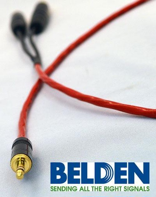 50cm iPod/iPhone用オーディオケーブル Belden ベルデン 88760