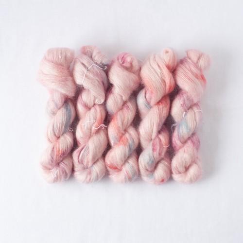 刺繍 (Kid mohair silk Lace NEW)