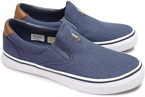 POLO RALPH LAUREN ポロ ラルフローレン メンズ スリッポンシューズ スニーカー Thompson Canvas Sneaker 3カラー 6777233