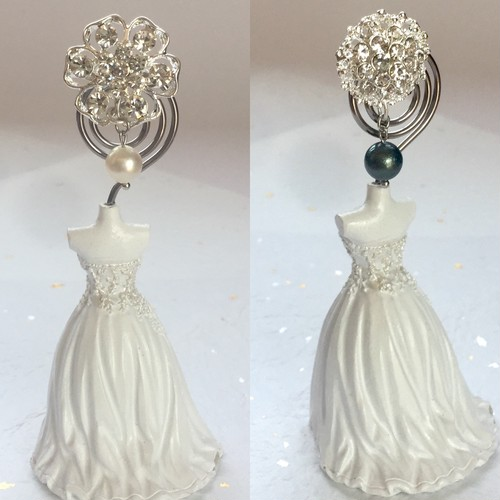 本真珠の帯留め 白 黒 セット 揺れる パール 母の日プレゼント ギフト SALE 送料無料 きらめく
