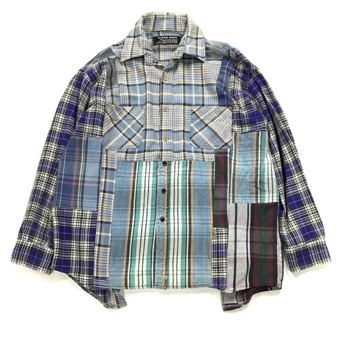 REMAKE  SHIRTS リメイクチェックシャツ【Shirts35】