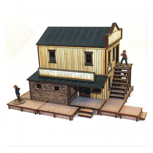 【予約発注】 DMH :   Feature Building 2: Sheriff's Office 28S-DMH-108