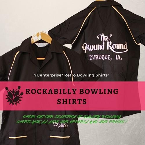 ロカビリーボーリングシャツRankS