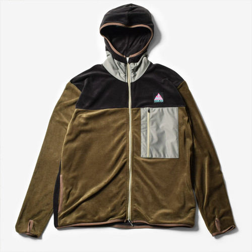 【20%OFF】Mountain Martial Arts / TMRC Thermolite Fleece Zip 《Khaki /Black》