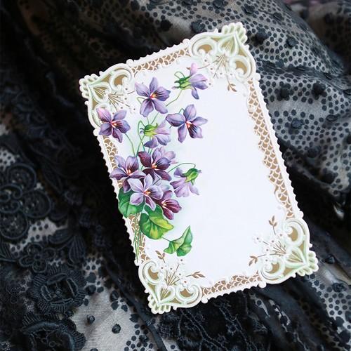 アンヴァンテール|菫嬢のお洋服と菫カードセット