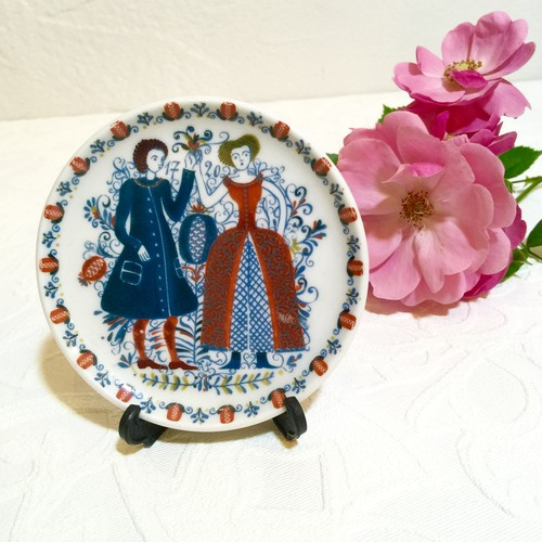 60's Vintage made in West-Germany Small Trinket Plate  [CPV-16]