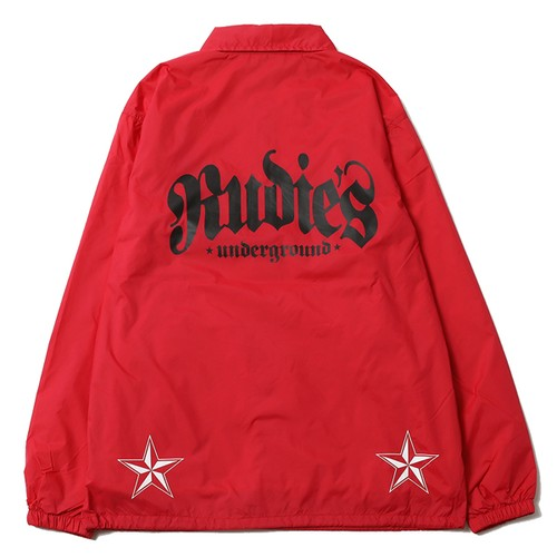 RUDIE'S / ルーディーズ   STAB COACH JACKET : Red