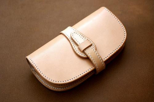 【受注製作】本革サドルレザーの長財布【ベルト】