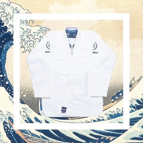 Scramble New Wave BJJ Kimono ホワイト|ブラジリアン柔術衣