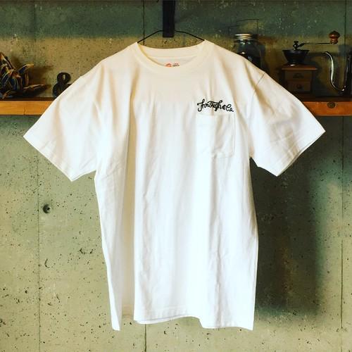 Through & Co. チェーンステッチTシャツ #2 black