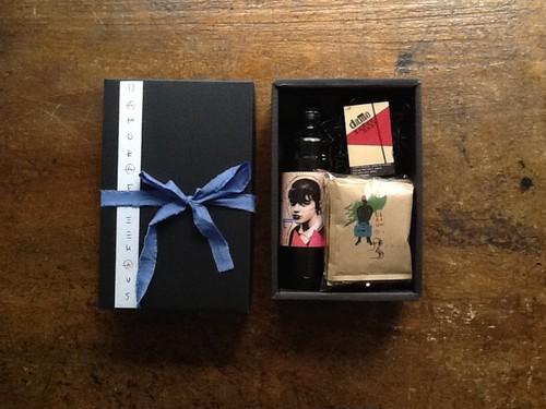 【BOXギフトセット】カフェオレベース1本(600ml)+ドリップバッグ5ヶ