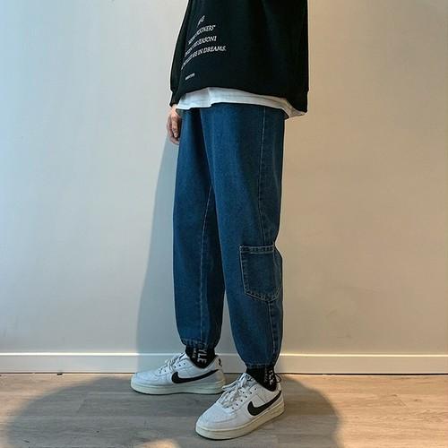 【FAST】ドローコードジョガーデニムパンツ #BL4891