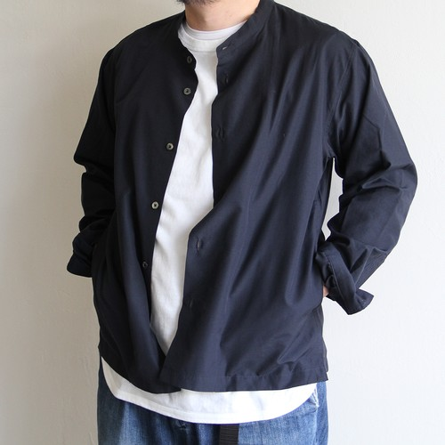LAMOND【 mens 】band collar shirts