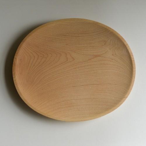 家具工房en オーバル皿(メープル) 商品番号:es2