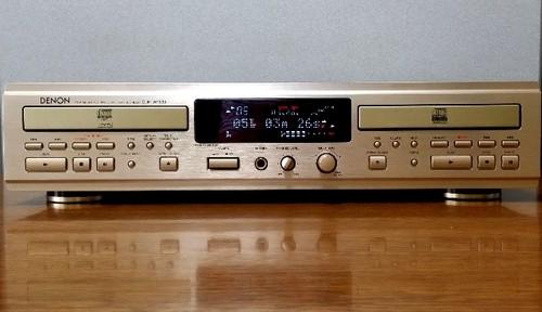 CDレコーダー DENON CDR-W1500 倍速コピー良好・訳あり完動品