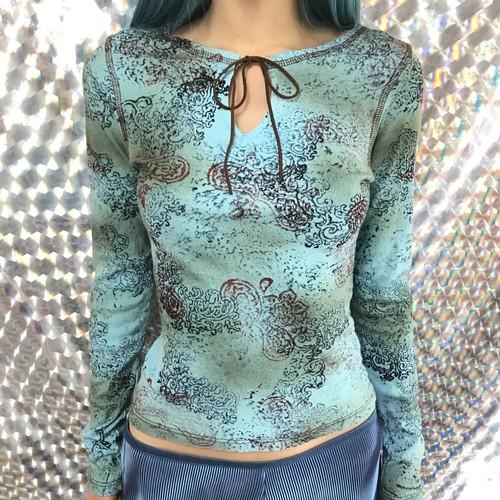oriental long sleeve tops