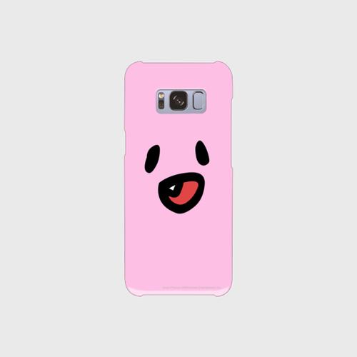 笑うファジー スマホケース (Android v1)
